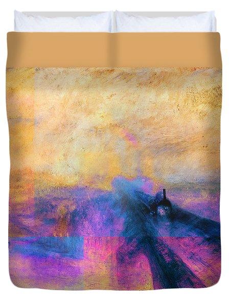 Inv Blend 12 Turner Duvet Cover by David Bridburg