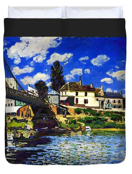 Inv Blend 14 Sisley Duvet Cover by David Bridburg