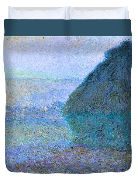 Inv Blend 21 Monet Duvet Cover by David Bridburg