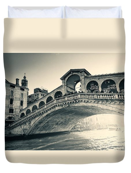 Invasion During The Dawn Duvet Cover