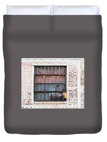 Inventory Time Duvet Cover