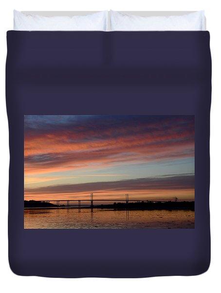 Inverness Dawn Duvet Cover