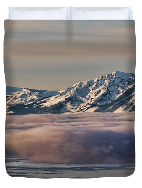 Inversion Tahoe Duvet Cover