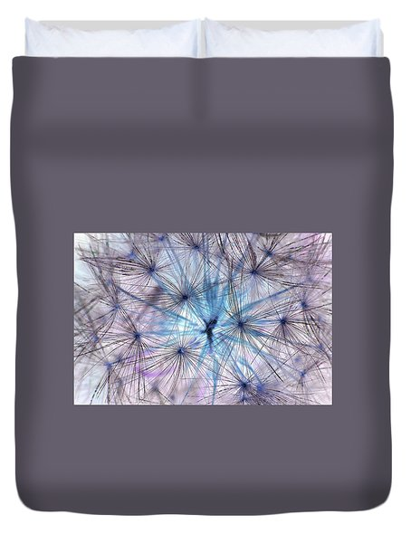 Inverted Dandelion Duvet Cover