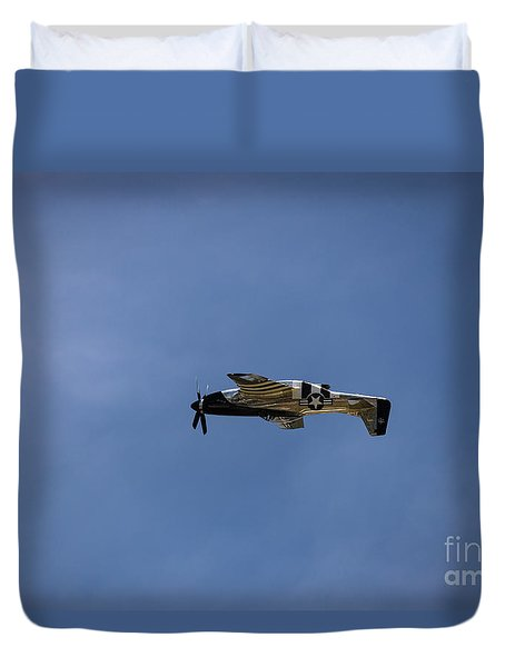 Inverted Mustang Duvet Cover