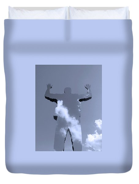 Duvet Cover featuring the photograph Invisible ... by Juergen Weiss