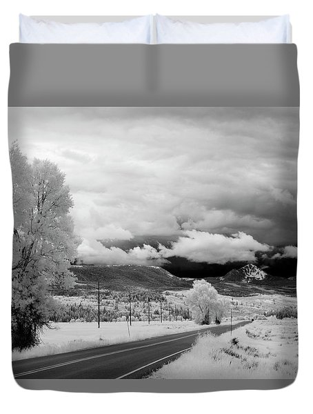 Invisible Drive Duvet Cover