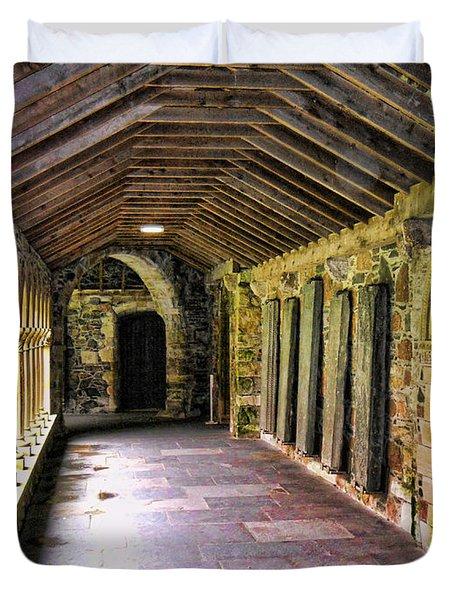 Arched Invitation Passageway Duvet Cover