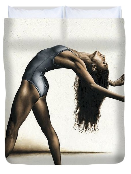Invitation To Dance Duvet Cover