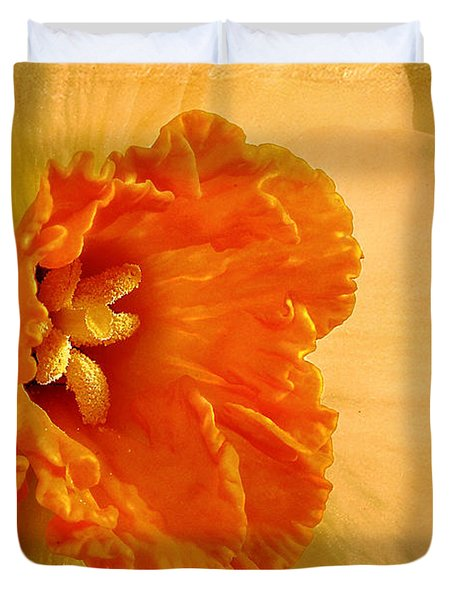 Inviting Duvet Cover by Lois Bryan