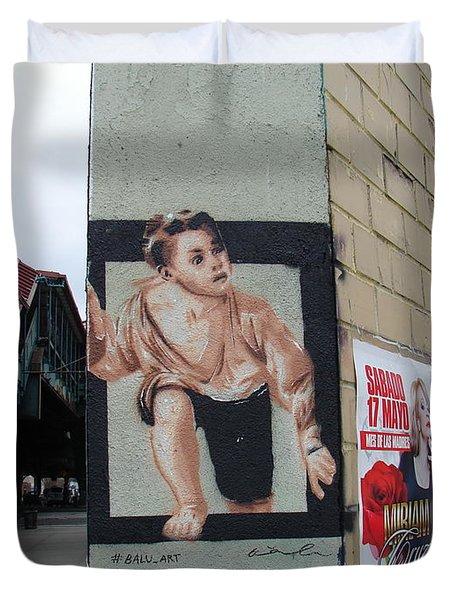 Inwood Graffiti  Duvet Cover