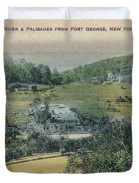 Inwood Postcard Duvet Cover