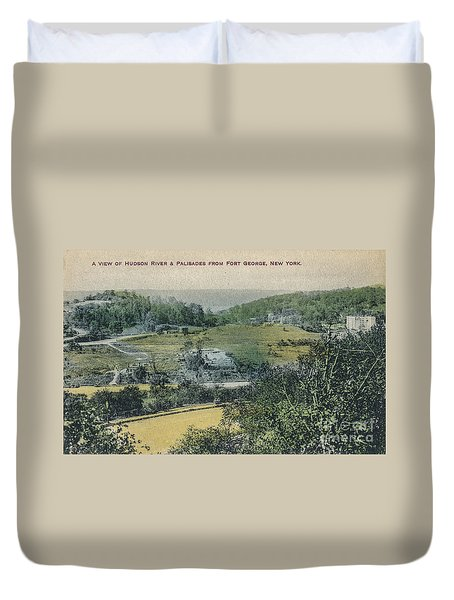 Inwood Postcard Duvet Cover by Cole Thompson