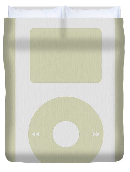 iPod Duvet Cover by Naxart Studio