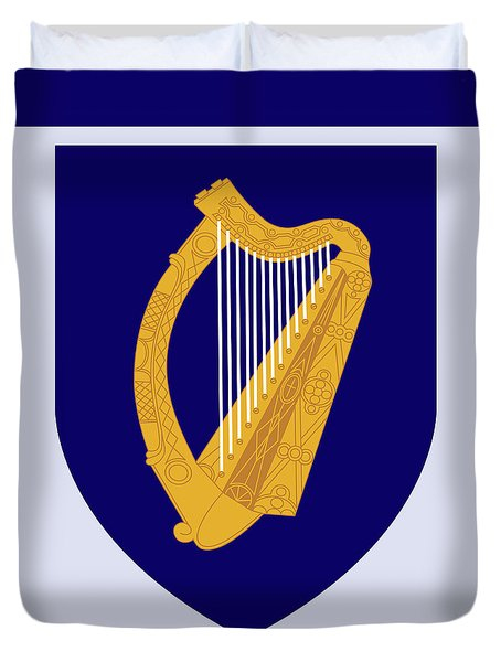 Ireland Coat Of Arms Duvet Cover by Movie Poster Prints