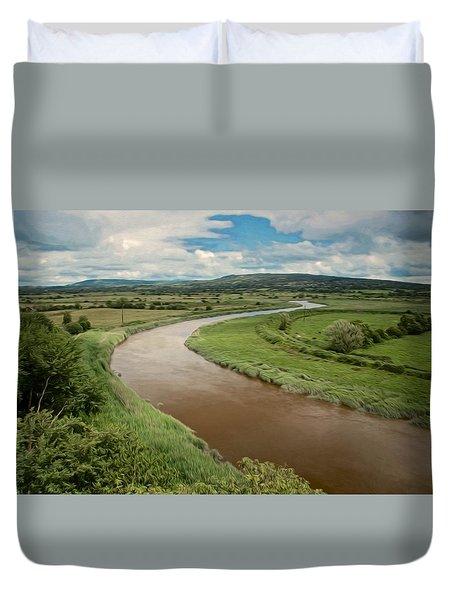 Ireland River Duvet Cover