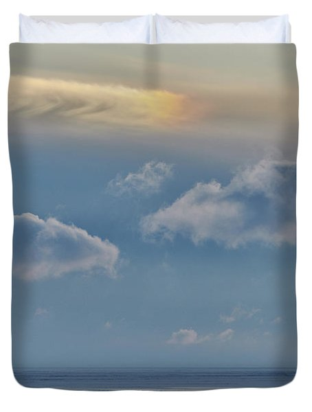 Iridescence Horizon Duvet Cover