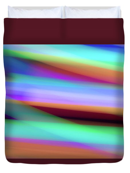 Iridescence Duvet Cover