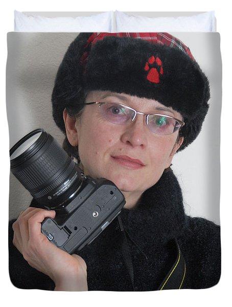 Irina By Mark 2 Duvet Cover