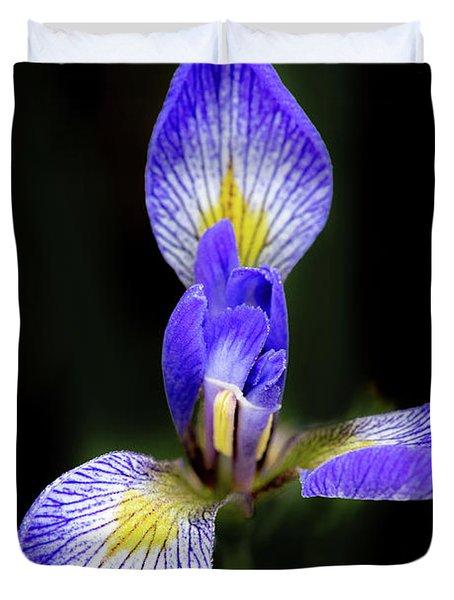 Iris #1 Duvet Cover