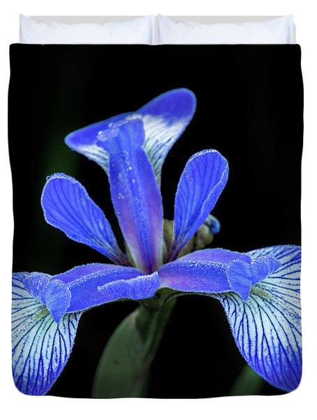 Iris #2 Duvet Cover