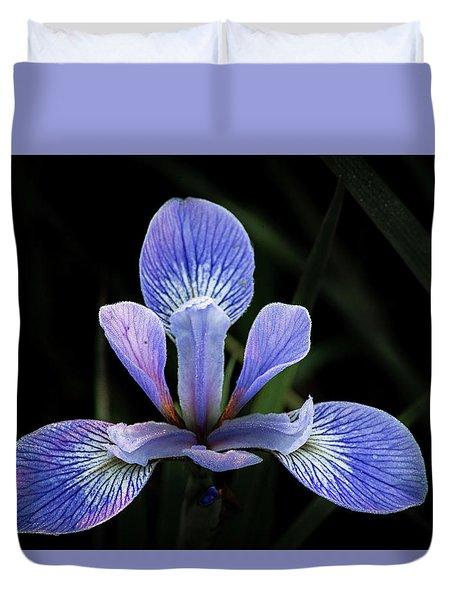 Iris #4 Duvet Cover