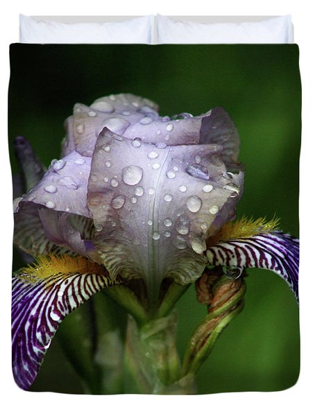 Iris After The Rain 1409 H_2 Duvet Cover