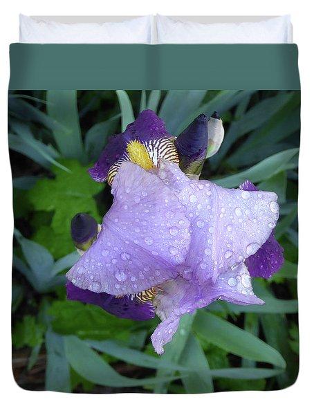Iris After The Rain IIi Duvet Cover