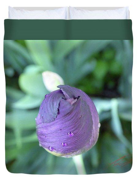 Iris After The Rain V Duvet Cover