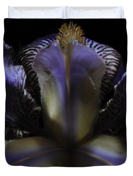 Iris Aglow Duvet Cover