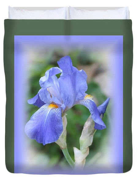 Iris Beauty Duvet Cover by MTBobbins Photography