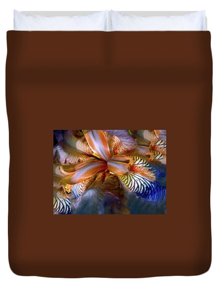 Iris Dream Duvet Cover