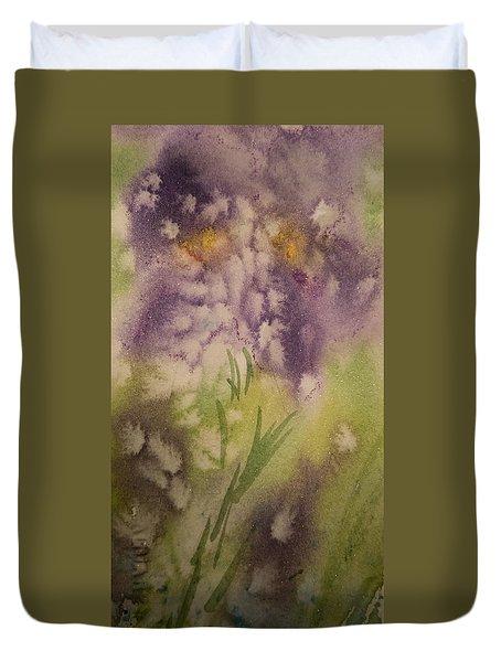 Iris Fantasy Duvet Cover