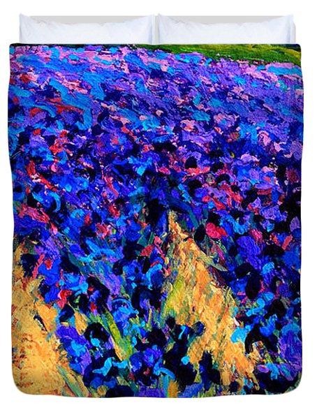 Iris Farm Duvet Cover