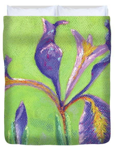 Iris For Iris Duvet Cover