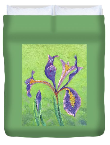 Iris For Iris Duvet Cover
