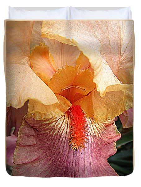 Iris Garden 19 Duvet Cover