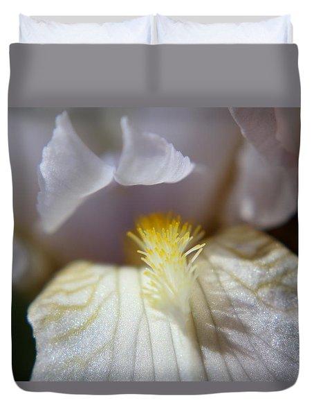 Iris Glistening Duvet Cover