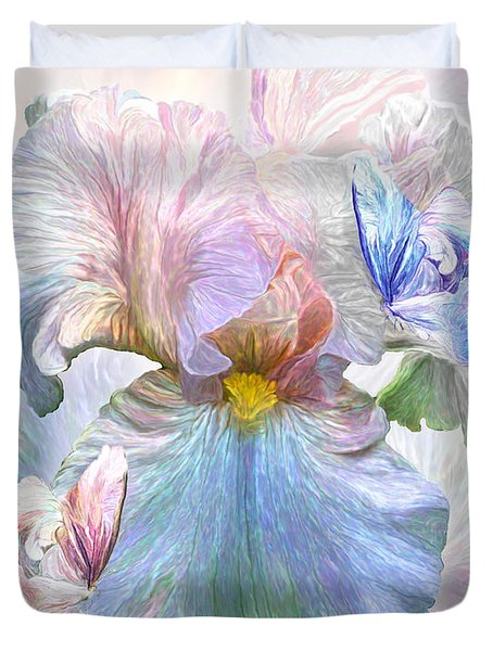 Iris - Goddess Of Serenity Duvet Cover
