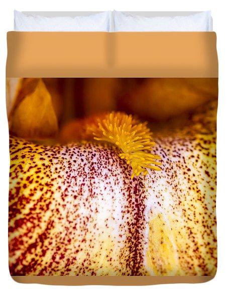 Iris Insider Duvet Cover