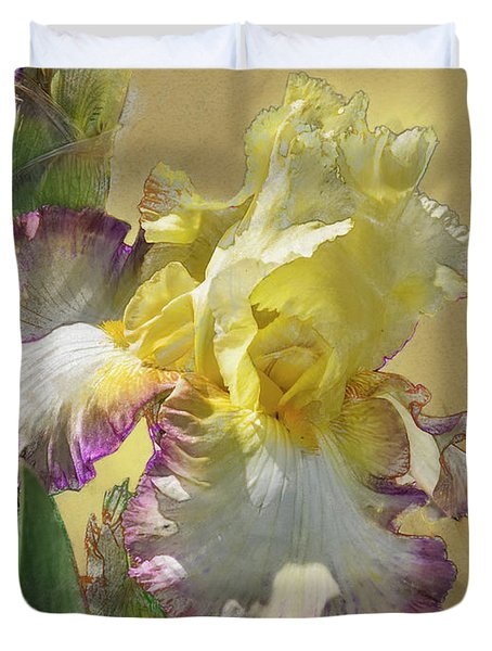 Iris, 'kiss Of Kisses' Duvet Cover