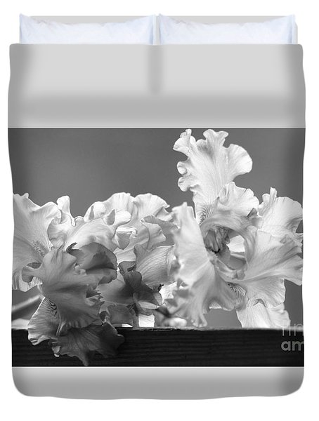 Iris Duvet Cover by Lila Fisher-Wenzel