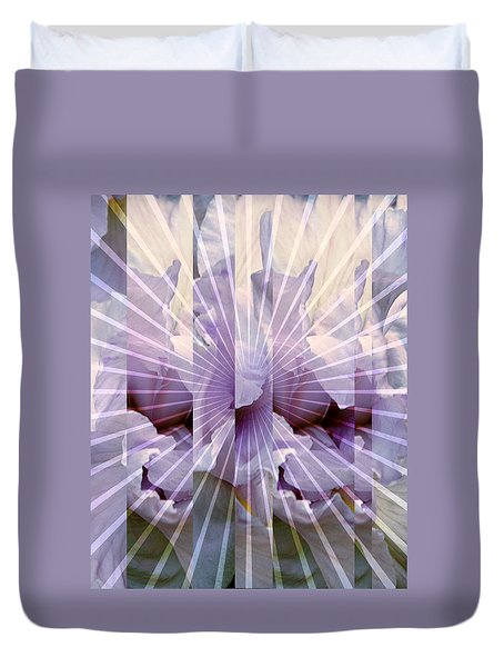 Iris Nova Duvet Cover