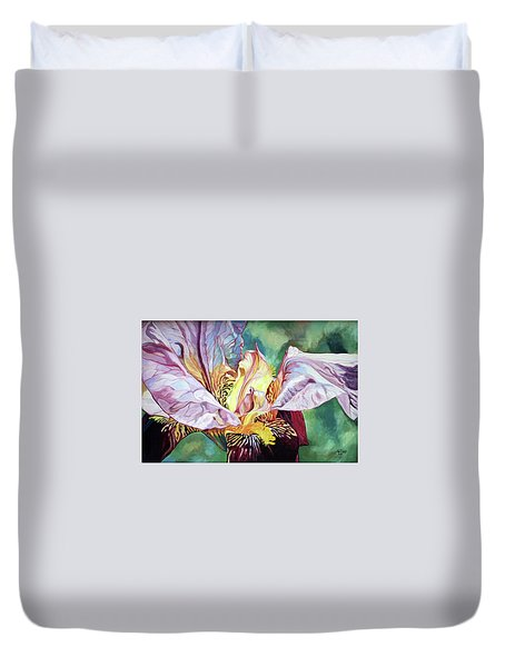 Iris Passion 1993 Duvet Cover