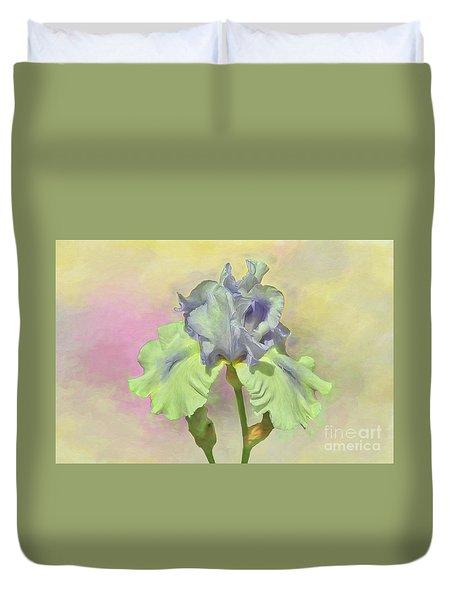 Iris Pastels Duvet Cover