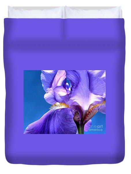Iris Princess Duvet Cover