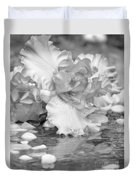 Iris Reflection Duvet Cover