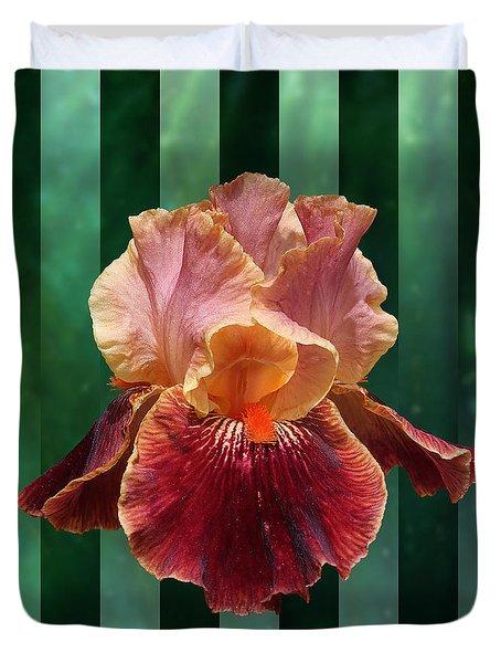 Iris Unleashed Duvet Cover