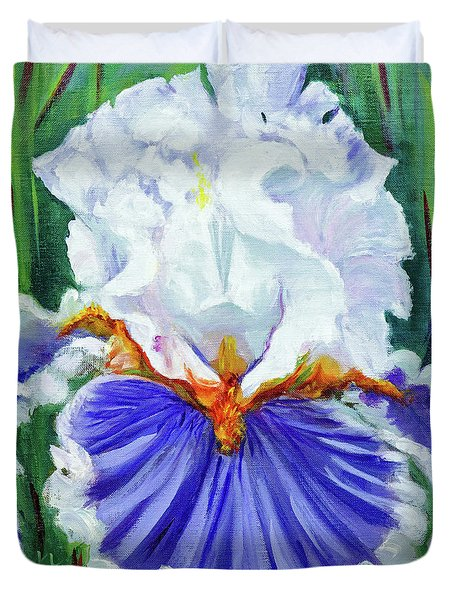 Iris Wisdom Duvet Cover