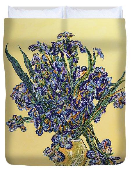 Irises  Duvet Cover